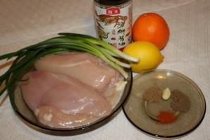 Курица с апельсинами в мультиварке - фото шаг 1