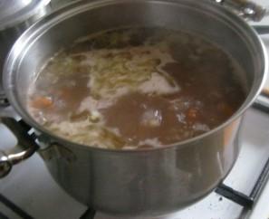Суп из сушеных грибов белых - фото шаг 3