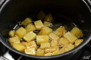 Картофель с карри - фото шаг 3