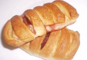 Пирожки слоеные с вареньем - фото шаг 4