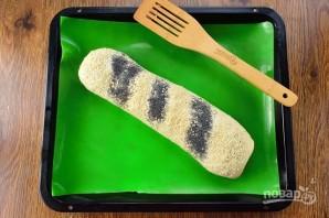 Кулебяка с капустой и изюмом - фото шаг 8