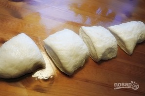 Дрожжевое тесто на пирожки - фото шаг 9