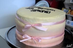 """Торт """"Омбре"""" - фото шаг 5"""
