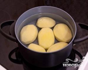 Картофель, запеченный с помидорами и сыром - фото шаг 1