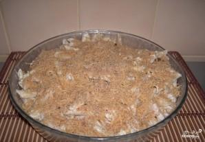 Макароны со свининой в духовке - фото шаг 12