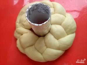 Пасхальный венок (выпечка) - фото шаг 4