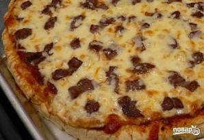 Пицца с мясом - фото шаг 13