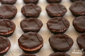 Шоколадные пирожные с шоколадным кремом - фото шаг 5