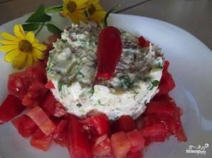 Салат мясной со свининой - фото шаг 4