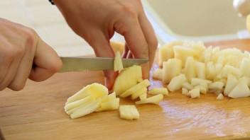 Грушево-яблочные кексы - фото шаг 4