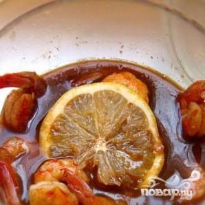 Жгучие креветки в ледяной пиале - фото шаг 4