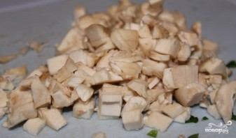 Фасоль с грибами - фото шаг 4
