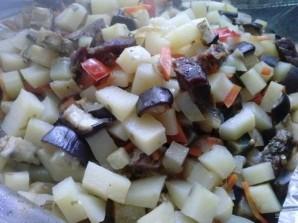 Рецепт мяса с овощами в рукаве - фото шаг 12