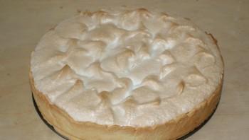 Лимонный пирог с безе - фото шаг 13