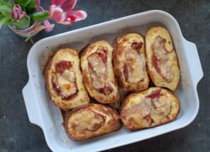 Горячие бутерброды с ветчиной и сыром - фото шаг 7