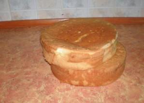 Торт двухъярусный - фото шаг 1