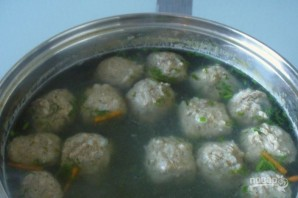 Суп с фрикадельками - фото шаг 3