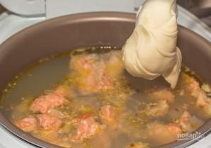 Сырный рыбный суп - фото шаг 6