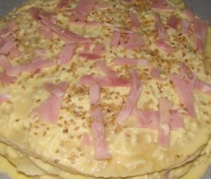 Сырный торт с ветчиной - фото шаг 4