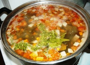 Чечевичный суп с говядиной - фото шаг 7