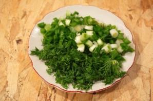 Диетический салат с крабовыми палочками - фото шаг 2