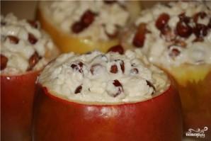Яблоки с творогом в мультиварке - фото шаг 5