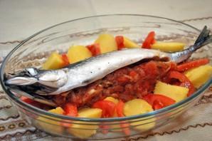 Рыба фаршированная и запеченная - фото шаг 6