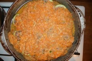 Кабачки с фаршем и рисом - фото шаг 5