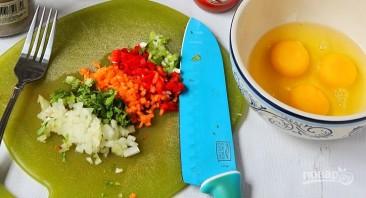 Яичные роллы по-корейски - фото шаг 1