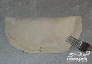 Пирог с сыром, луком и картофелем - фото шаг 5