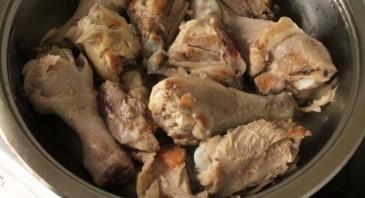 Хашлама из курицы с картошкой - фото шаг 2