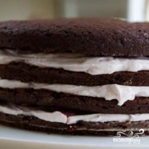 """Торт """"Пьяная вишня"""" - фото шаг 13"""