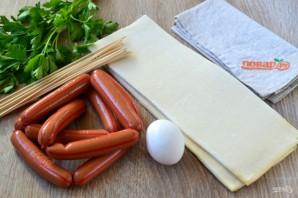 Сосиски в тесте на шпажках - фото шаг 1