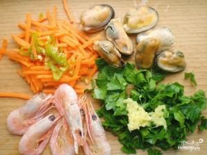 Блинчики с морепродуктами   - фото шаг 1