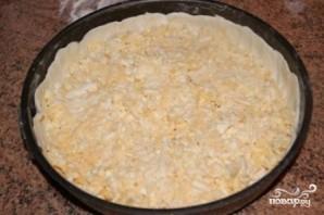Сырный пирог из слоеного теста - фото шаг 5