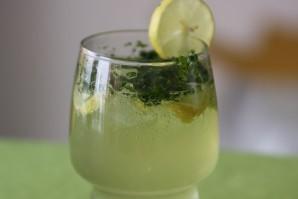 Коктейль с лимоном - фото шаг 3