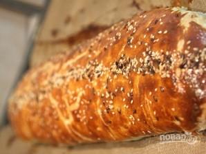Слоеный пирог с брокколи и цветной капустой - фото шаг 6