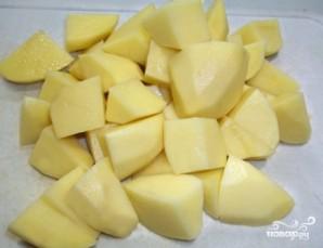 Картошка с мясом в казане - фото шаг 5