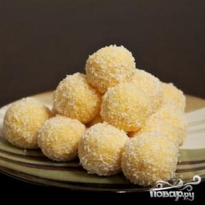 Сырные шарики в кокосовой стружке - фото шаг 8