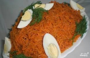 Салат с корейской морковью и ветчиной - фото шаг 5