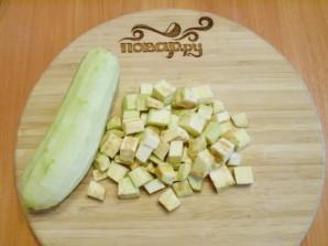 Жареные баклажаны с чесноком и зеленью - фото шаг 2