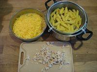 Запеканка из макарон с курицей - фото шаг 1