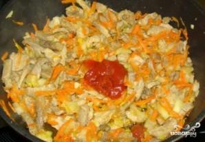 Солянка из свежей капусты с картошкой - фото шаг 2