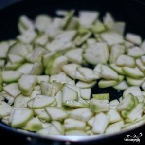 Зеленый салат с каперсами - фото шаг 2