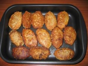 Куриные биточки в духовке - фото шаг 4