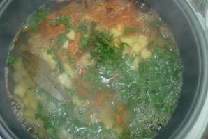 "Куриный суп в мультиварке ""Редмонд"" - фото шаг 3"