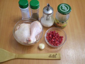 Мясо со смородиной - фото шаг 1