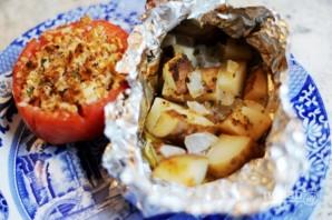 Запеченная картошка в фольге - фото шаг 7