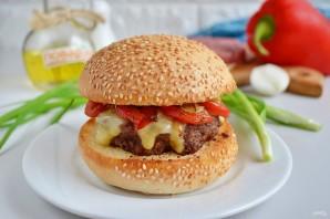 Очень вкусный бургер - фото шаг 12