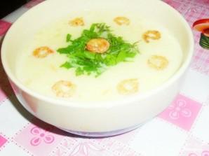 Сливочный суп с морепродуктами - фото шаг 4